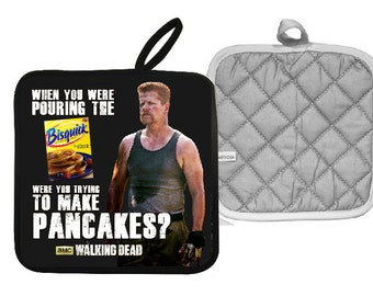 Walking Dead Abraham Ford Bisquick Pot Holder