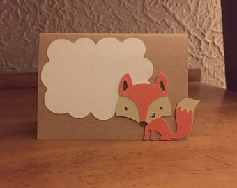 Forest animal party decoration