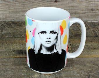 Blondie goddess Debbie Harry MUG 80s nostalgia Music Lovers Gifts for Her Him Girlfriend Boyfriend punk icon