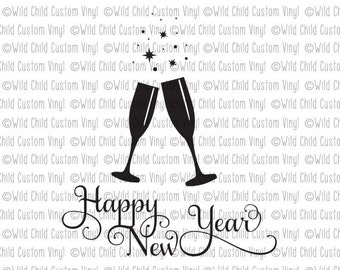 "Shop ""happy new year svg"" in General Supplies"