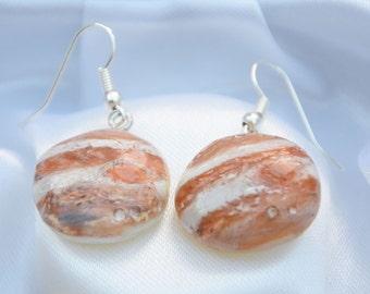 Jupiter hook earrings
