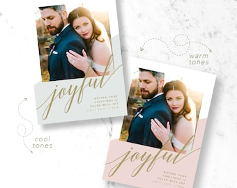 Simply Joyful Holiday Photo Cards