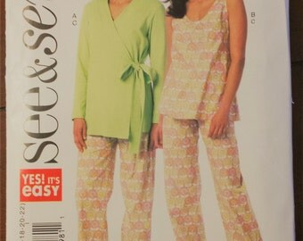 See&Sew Pattern B6159: Robe, Top, Pants