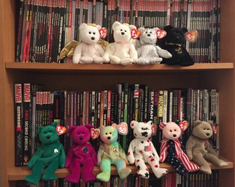 DISCOUNTED Exclusive collection of rare TY Beanie Babies