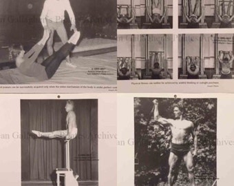 Pilates Guild 1998 Calendar Pictures- Set 3