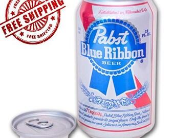 Pabst Blue Ribbon PBR Stash Can Diversion Safe