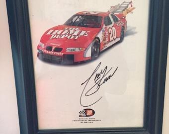 NASCAR Driver Autograph - Tony Stewart