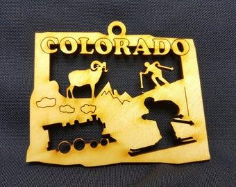 Colorado State Ornament