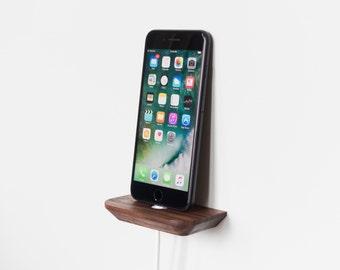 Walnut iPhone Dock