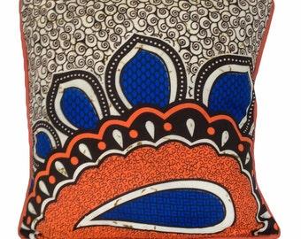 Africran Fabric Cushion Covers 16x16 inch