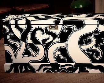 Trunk Black & White, exclusive, design only