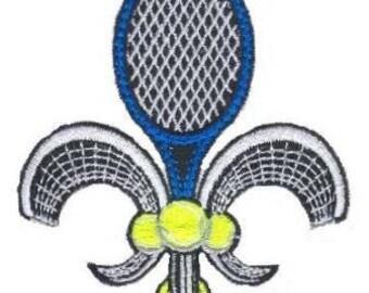 Tennis Fleur de Lis