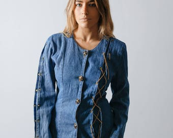 Vintage 80s Denim Shirt