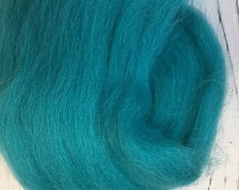 Merino Wool Roving - Azurite - 1 oz