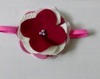 Pink Toddler Headband