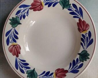 Farmer's Bond deep plate, Society Ceramique Maestricht, Made in Holland