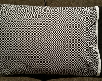 Aztec Black & White - 1 Standard Size Pillowcase
