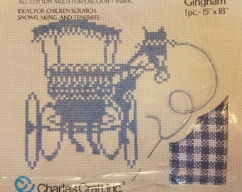 Guilford Gingham Cross Stitch Fabric Charles Craft