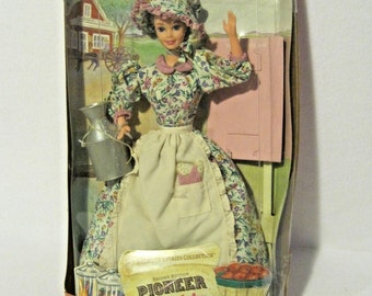 Pioneer Barbie American Stories~1995 Mattel Collector Edition~Second Edition
