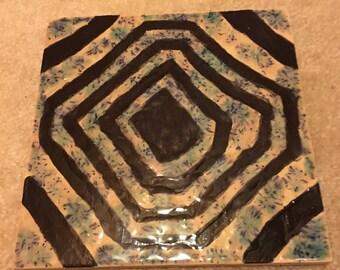 Big tile coasters
