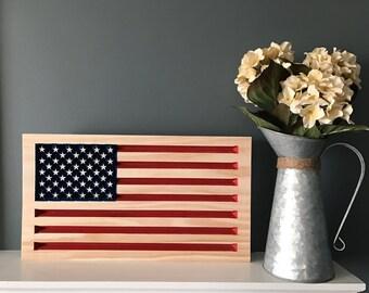 3D Patriotic American Flag