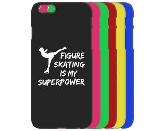Phone Case is #1 Figure Skating Gift or Figure Skater Gift! Get Ice Skating Party iPhone Case, iPhone 6 Case, iPhone SE Case, iPhone 6S Case