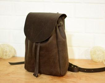 women leather backpack, Leather backpack, leather rucksack, leather bag, leather backpack women, leather backpack purse, hipster backpack