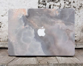 Grey Marble Mac Pro 15 Sticker Decal Laptop Cover Laptop Skin Macbook Air Sticker Laptop Decals Mac Skin Computer Decals Laptop Stickers 036