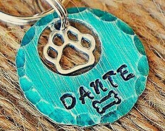 Dog Tags - Pet ID - Cat Tag - Pet Accessories - Collar Tag - Pets - Pet Tag - Metal ID - Custom ID Tag - Personalized Pet Tags