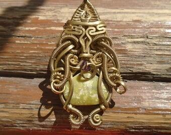 mask pendant maya