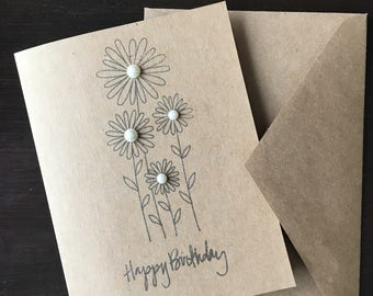 Happy birthday cards, happy birthday, handmade