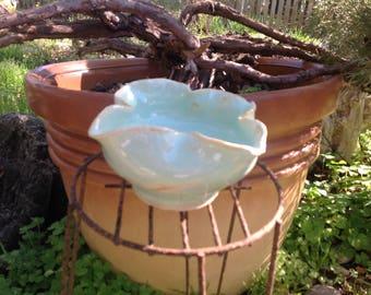 Ceramic tulip bowls