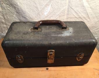 Vintage Retro Toolbox Tackle Box Keepsake kit