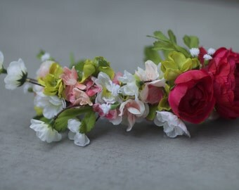 Custom Small Flower Crown
