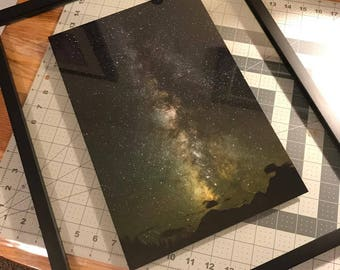 Floating frame milky way galaxy