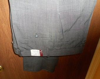 Mens Dress Pants by   CORDOVAN & GREY LTD.  38 unhemed  Never Worn Still With Tags On Them