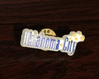 Oklahoma City Pin/Badge