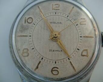 VOLNA Almaz 18 jewels cal.2809 ussr collectible vintage wristwatch soviet watch