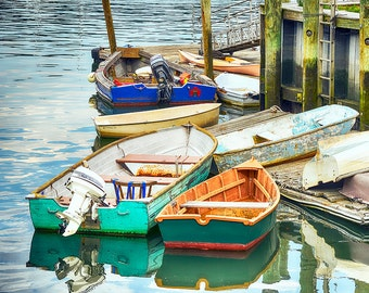 Rowboats at the Dock in Northport