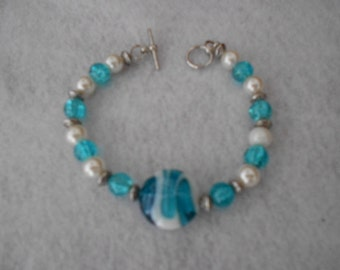 """Larger Size Beaded Bracelets 8"""" and up"""