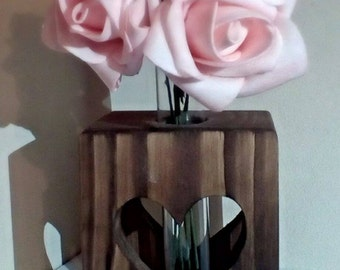 Single Stem Test Tube Vase
