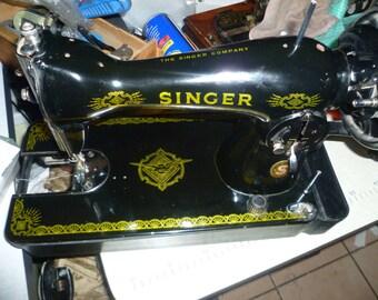 Singer 15K Handcrank Sewing machine
