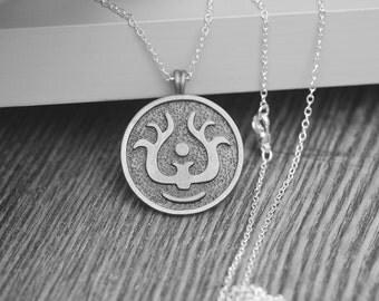Levitation Stone necklace Laputa:Castle in the Sky inspired Laputa Princess Sheeta jewelry by Miyazaki Hayao C451N-S