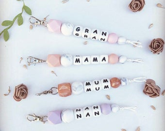 Mother & Grandmother Keychain/Bagtag