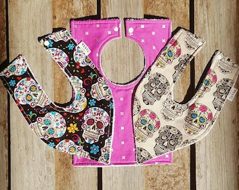 Handmade Baby dribble / flat bandana bib - See other photos for fabric available