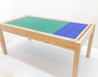 Elegant Lego Table Train Table Activity Table Kids Play Table Imaginerium Lego Table  With REVERSIBLE Inset Tray