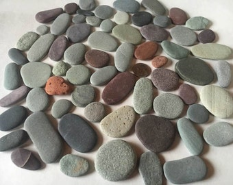 Small beach pebbles.