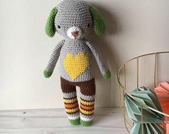 Amigurumi-Handmade toys-Crochet toys-Birthday present for boy-Birthday present for girl-Baby shower presents