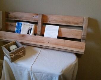 Hanging Book Rack wooden book rack | etsy