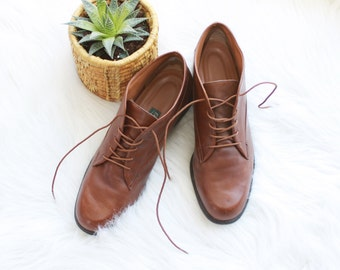REDUCED Vintage - Easy Spirit - Womens 9.5a - Brazilian - Lace Up - Leather - Ankle Boots